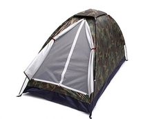 2 Person Wildness Camouflage Blind Waterproof Single Layer Net Yarn Anti-mosquito Breathable Camping Tent Portable Outdoor Tool
