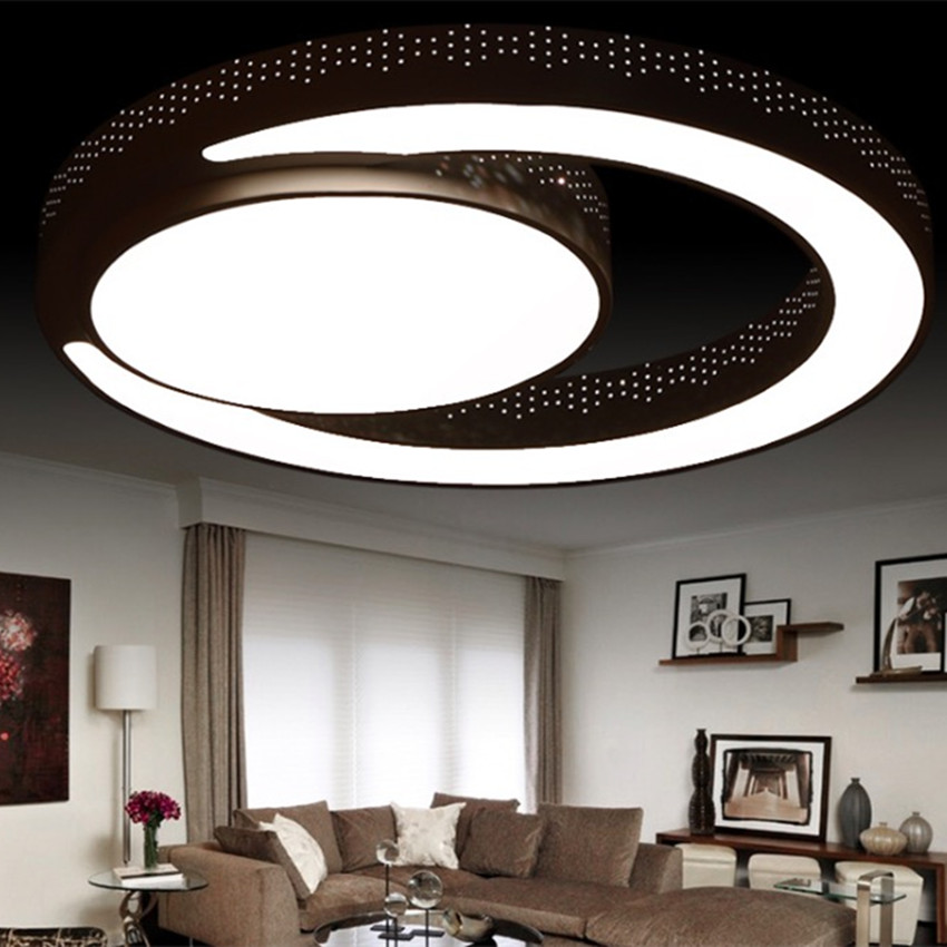 Modern bedroom ceiling lighting designs lighting ideas for Modern living room ceiling lights