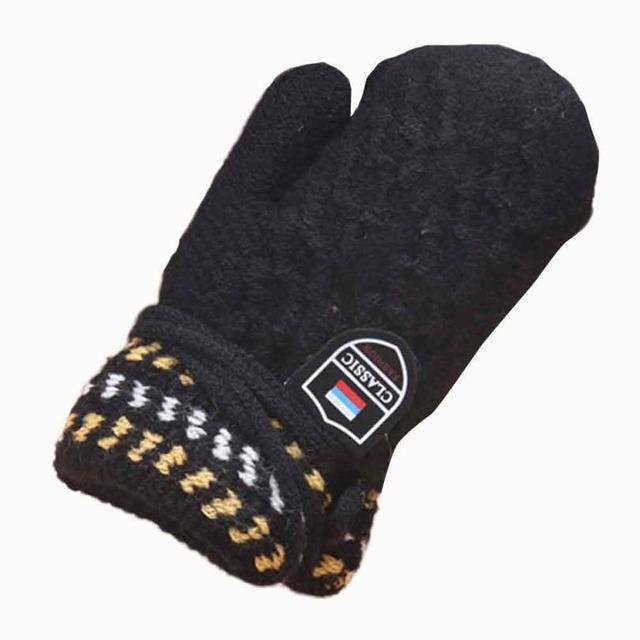 5eda1c37dc93 Winter Baby Bear Gloves2017 Cute Thicken Hot Infant Baby Girls Boys ...