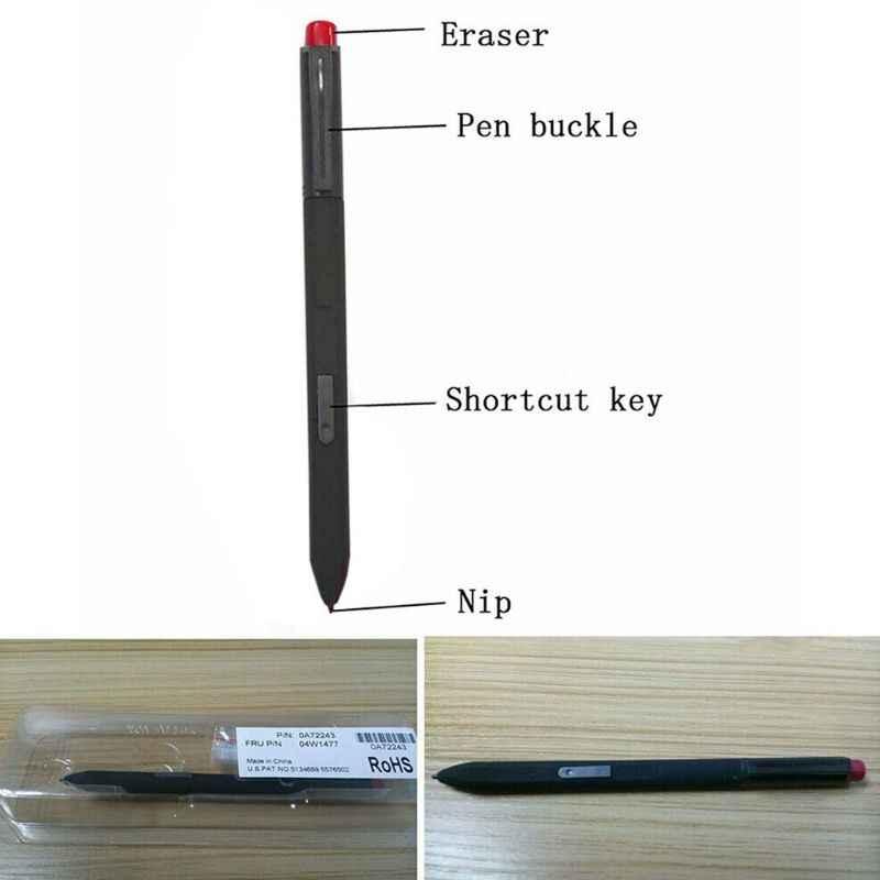 Caneta de toque capacitivo stylus lápis alta precisão dicas desenho portátil escrita para microsoft surface pro1 pro 2 thinkpad x200t