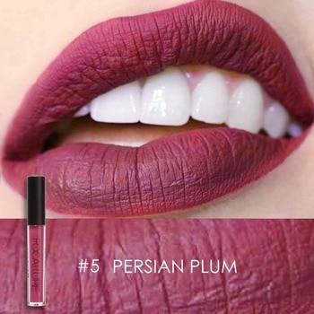 Focallure glitter Matte Liquid Lipstick 25color Lip gloss Lip Tint Cosmetic Lipstick not sticky Sexy Nude Makeup 3