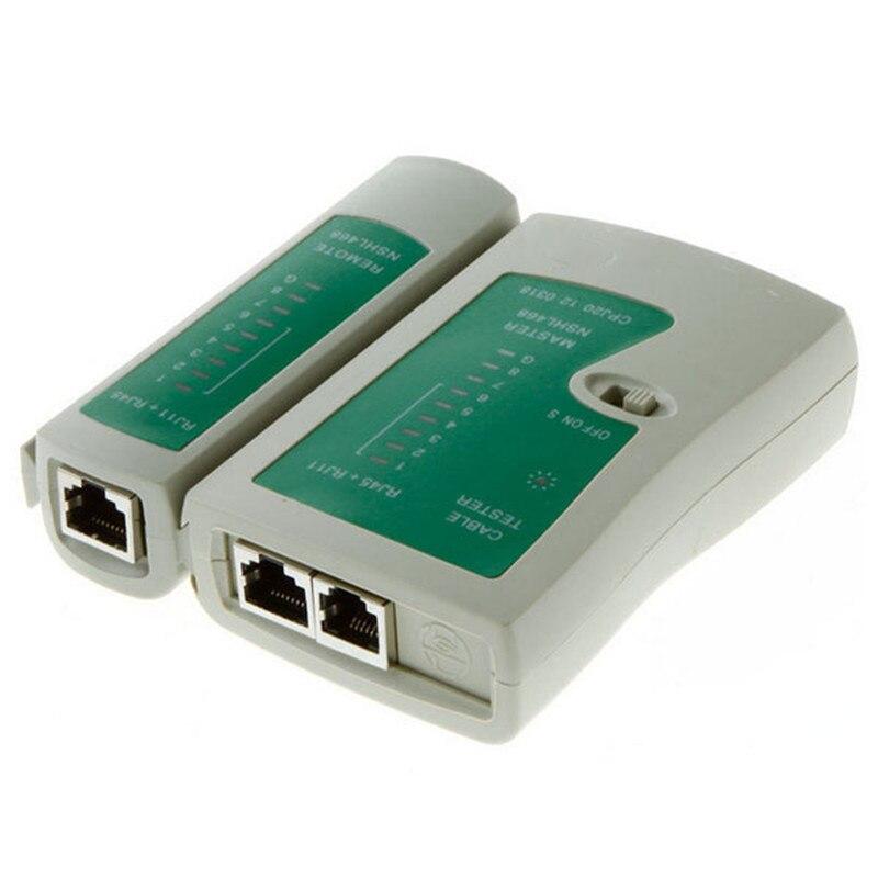 Горячая сетевой кабель тестер Tracker CAT5 RJ45 RJ11 RJ12 LAN Кабельный тестер Ручной Провода телефонной линии детектор инструмент кабельный тестер