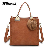 Wilicosh Fashion 2017 Flap Bag Women Leather Handbags Crossbody Bags For Women Luxury Brand Solid Female