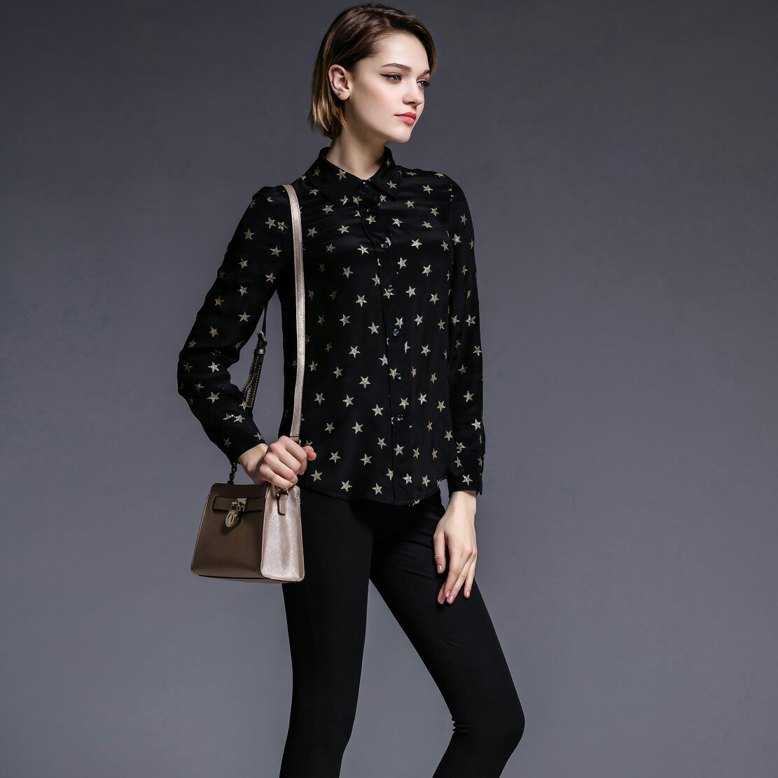 High Quality Women Blouses 2016 New Spring Fashion Vintage ...