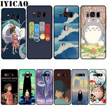 IYICAO Ghibli Spirited Away Totoro ซิลิโคนสำหรับโทรศัพท์ Samsung Galaxy S10 S9 S8 Plus S6 S7 Edge S10e E(China)