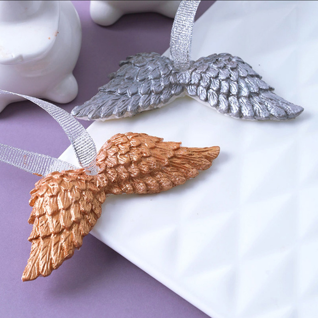 brixini.com - DIY 3D Angel Wings Silicone Mold