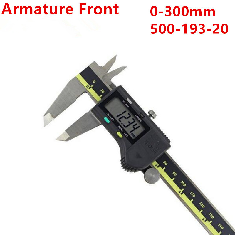 2pc Digital Vernier Caliper 0-150 0-300 0-200mm LCD 500-196-20 Calipers Micrometer Electronic Measuring Stainless Steel лонгслив printio багира
