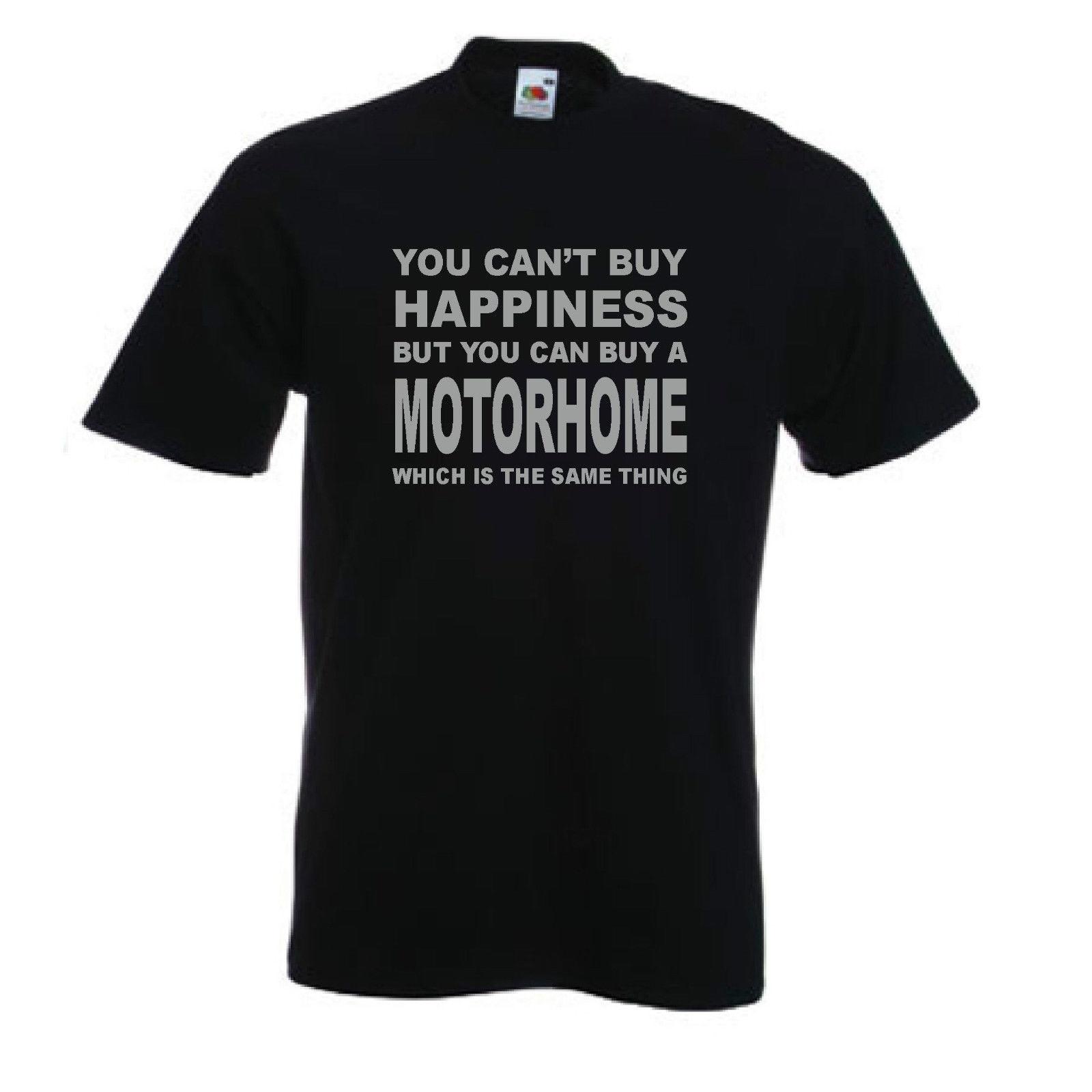 Motorhome T-Shirt Funny Campinger TShirt T Shirt Campervan Caravan Sizes S-XXL