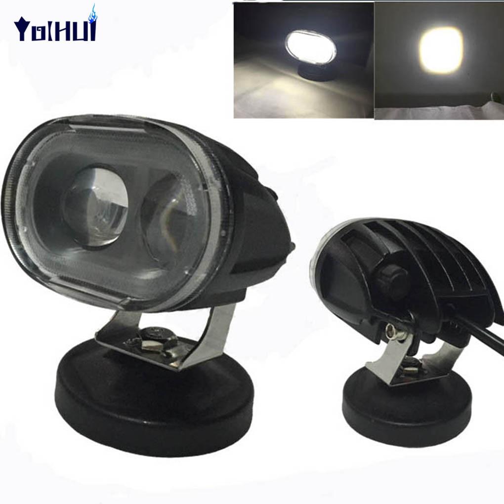20W Optical Lens Spot Beam Work Light LED Light Lamps Spotlight for Cars 775mm led backlight lamps kit w optical lens fliter for 39 40 tv monitor panel 12pcs led strips driver board