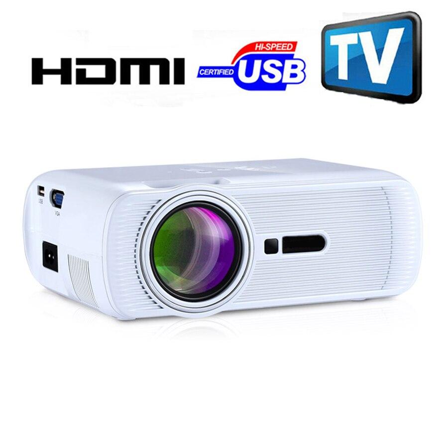 GE80 3d led mini proyector 1080 p full hd de cine en casa projetor vídeo lcd pr