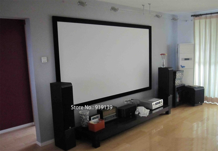 100 inch hd screen pic 1 - Projection Screens