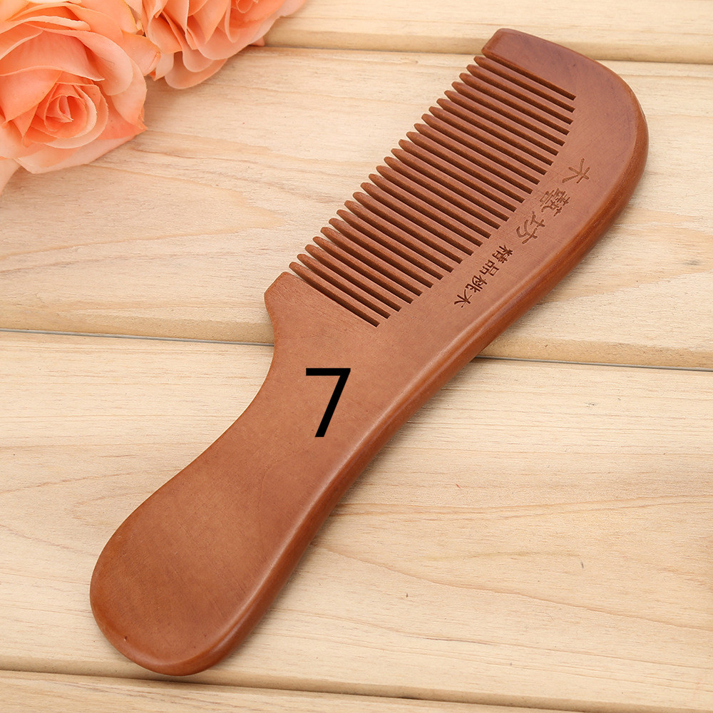 TI02 Feine holz kamm massage haar kamm mit unabhängige verpackung