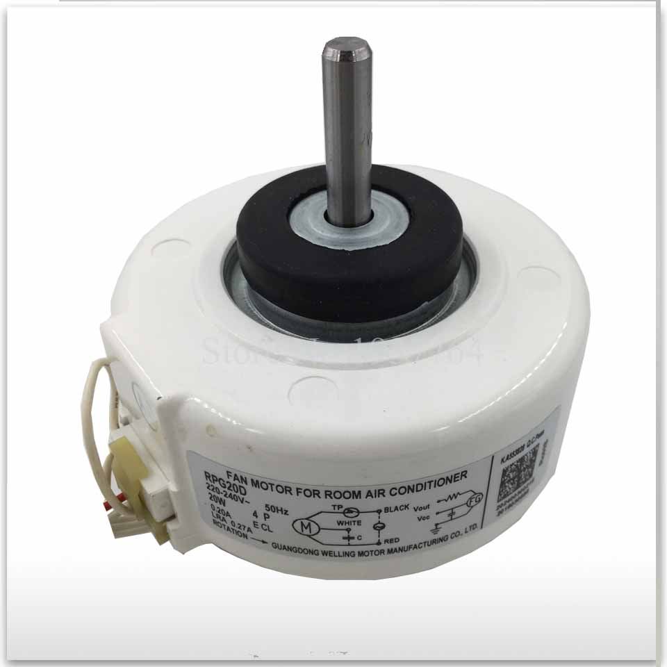 100 new for air conditioner motor RPG20D 20W Fan motor good working