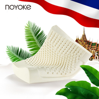 Noyoke Thailand Imports 100 Natural Latex Pillow Orthopedic Neck Pillow Fiber Cervical Health Care Orthopedic Latex