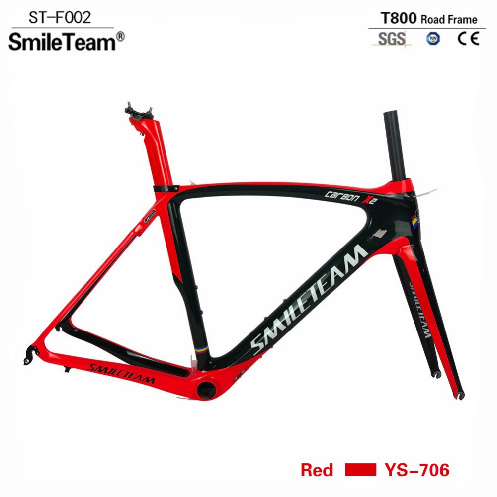 Newest carbon frame road 2017 super light DI2 carbon frame road bike with fork+headset+seatpost+clamp bicicleta carbon frame 2016 new bxt carbon road bike frame super light di2 carbon road bicycle frame with fork seatpost bicicleta frameset