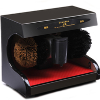 Automatic Shoe Sole Cleaning Machine For Home Office Auto Reaction Search Solid Wood Material 105w Shoe