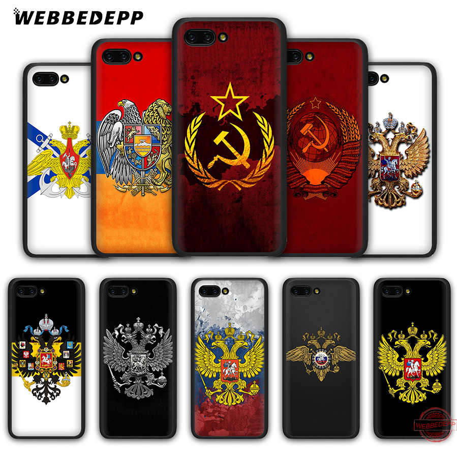 WEBBEDEPP Armenia russia Flag coat of arms Soft Silicone Case for Honor 20 10 Lite 9 Lite 9X 8 Lite 8C 8X 7X 7C 7A 3GB 6A Pro View 20 Cases Cover