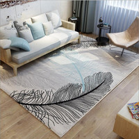 2018 Polyester carpet coffee table bedroom living room Rug garden kids mat computer chair swivel cushion Home Decoration