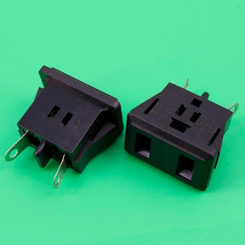 цена на YuXi AC power socket American standard socket US plug 15A 125V