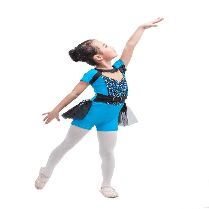 Dance Costume green jumpsuit jazz tap skate spectacular