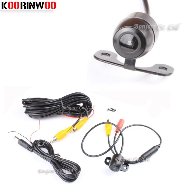 Koorinwoo CCD 170 gradi Car anteriore / vista posteriore della fotocamera impermeabile di visione notturna parcheggio di backup per Mazda / Toyota / Honda