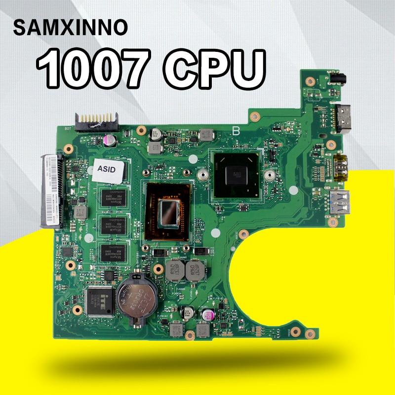 X200CA Motherboard 1007U/2117U CPU 4GB For ASUS X200CA X200CAP laptop Motherboard X200CA Mainboard X200CA Motherboard test ok for asus x200ca laptop motherboard with 2117u ram 4gb rev2 1 main board 60nb02x0 mb4020 100% working