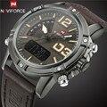 New Fashion NAVIFORCE Mens Watches Top Brand Luxury Alarm Clock Male LED Digital Analog Wristwatch Military Sport Quartz Watch