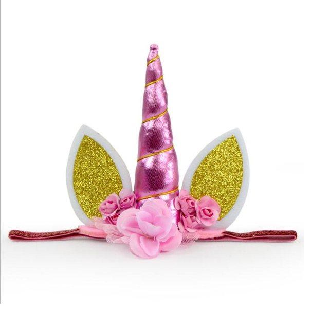 Online-Shop 6 Farben Regenbogen Einhorn Hairband Party Maske ...