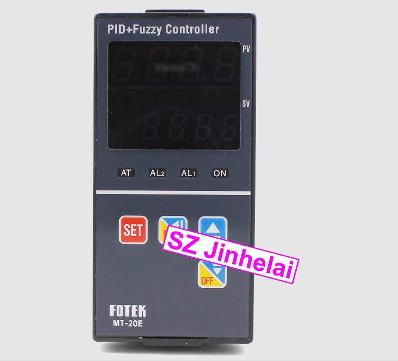 цена на 100% Authentic original FOTEK Temperature controller MT20-V-E (MT-20E) 90-265VAC SSR output