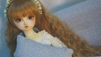 Горячая Распродажа Sudoll милая девушка 1/3 sd bjd игрушка каучуковые фигурки куклы высокого качества