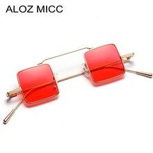 ALOZ MICC Vintage Square Sunglasses Women Men Brand Designer Sun Glasses Women Alloy Glasses Female oculos de sol UV400 Q395