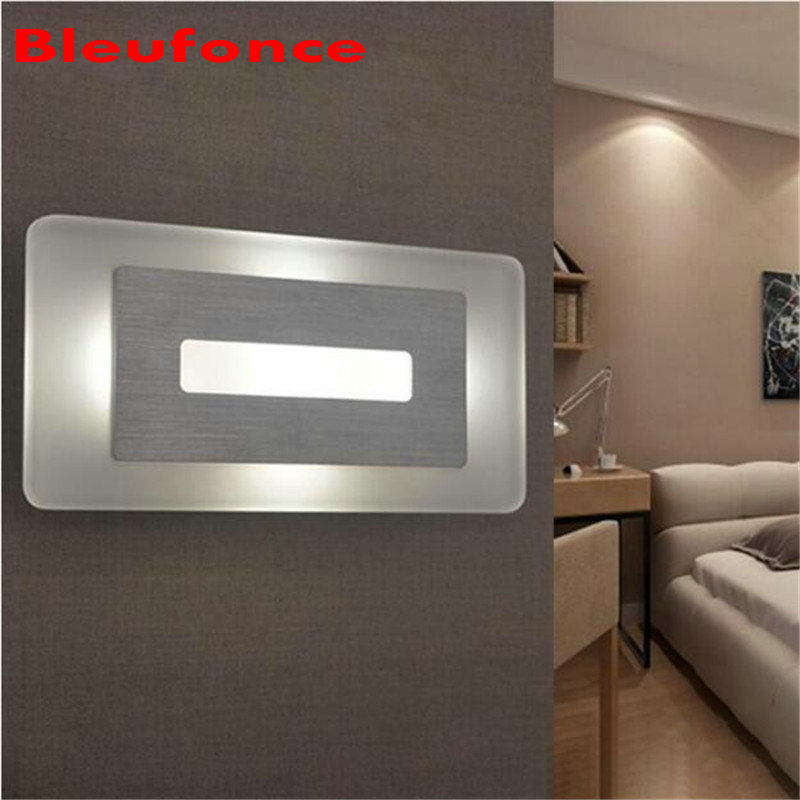 Wall Light LED Acrylic Wall Lamp Bedroom Bedside Living room Hallway Stairwell Balcony Aisle Balcony Lighting AC85-265V HZ67 wall light 12w led wall lamp bedroom bedside living room hallway stairwell balcony aisle balcony lighting ac85 265v hz64