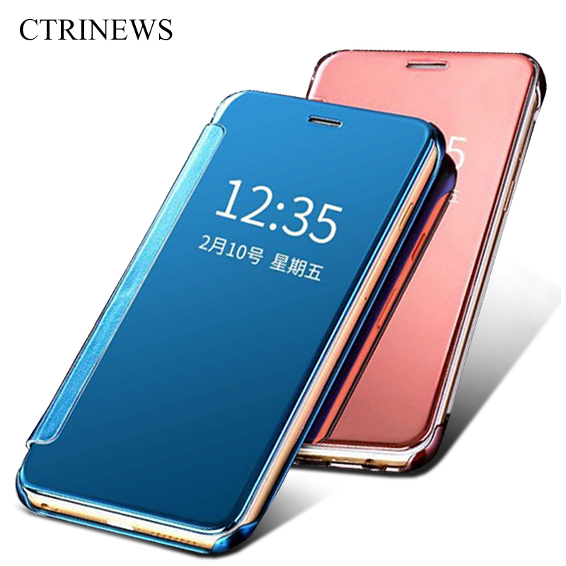 Smart case for xiaomi redmi 4 prime luxury plated hard pc for Mirror xiaomi to pc