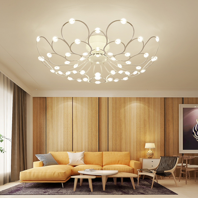 Modern minimalist atmosphere living room led ceiling lamp bedroom modern minimalist atmosphere living room led ceiling lamp bedroom creative personality full of starlight ceiling lamp mozeypictures Image collections