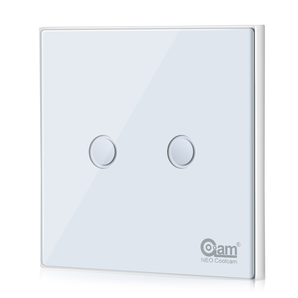 NEO Coolcam NAS - SC01ZE - 1 Smart Light Switch Remote Control Touch  Sensitive Compatible With Z-Wave 300 And 500 Series