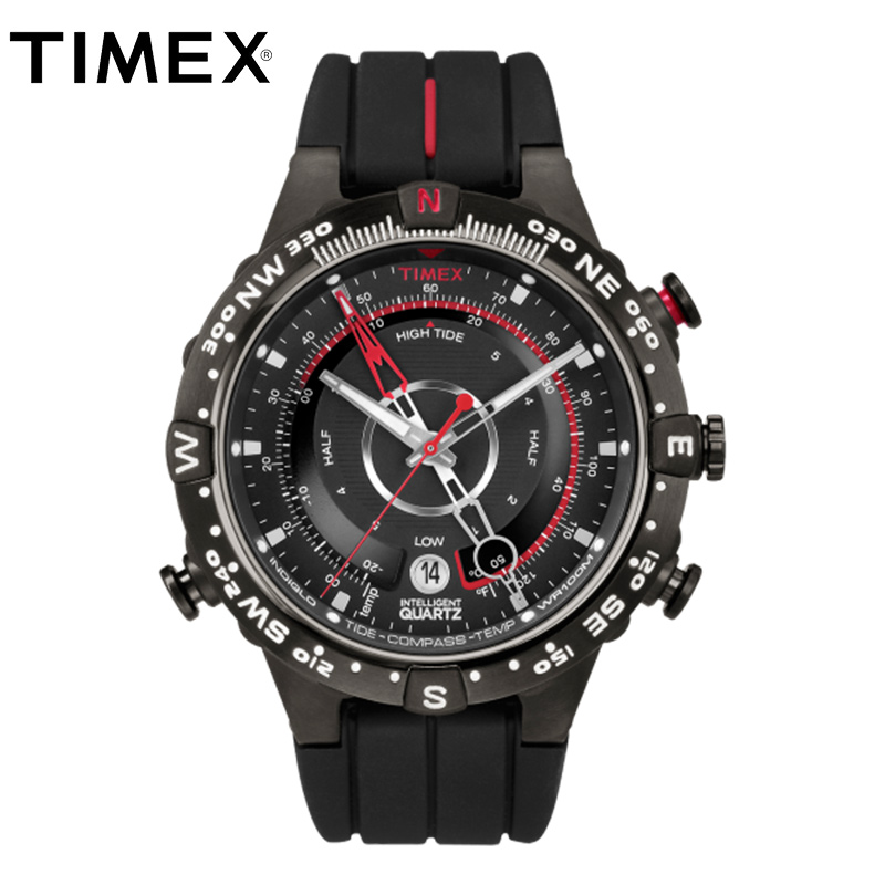 2018 Hot Timex Herrklockor Intelligent Quartz Luminous Tide Temp - Herrklockor
