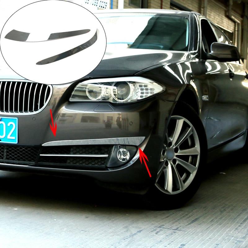 Chrome Front foglight rear Fog Light cover trim 6pcs For BMW X3 F25 2011-2013