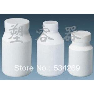 1000 ml ptfe laboratorio bottiglia teflon palloni con grande bocca, white clear1000 ml ptfe laboratorio bottiglia teflon palloni con grande bocca, white clear