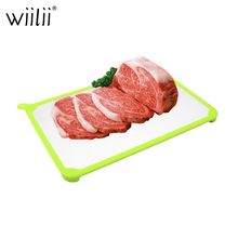 Aluminum Magic Thawing Board Fast Defrosting Tray For Frozen Food Kitchen Tools