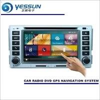 YESSUN для hyundai Santa Fe/Hawtai Bolgheri 2008 ~ 2010 автомобильный Радио CD dvd плеер HD экран gps навигация аудио видео система