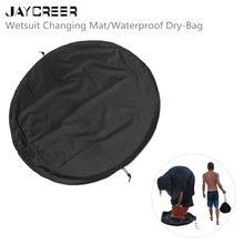 JayCreer пляжная сумка Wetsuit пеленальный коврик Размер: дхшxв(90X90X1 см) сухой влажный разделенный для спортзала, бассейна, пляжа