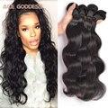 8A Grade Virgin Unprocessed Human Hair Malaysian Body Wave 4 Bundles Malaysian Virgin Hair Cheap Bundles ACE Goddess Hair