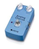 JOYO Analog Chorus Electric Guitar Effect Pedal Classic BBD Circuit Chorus Tone Rate And Depth Knobs