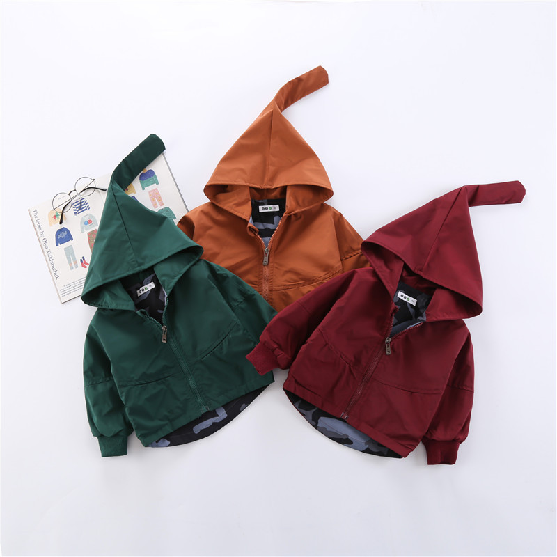 Boys' Baby Clothing Adroit New Infant Coat Boy And Girl Hooded Spring Autumn Jacket Baby Outerwear 8bb016 To Adopt Advanced Technology