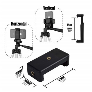 Image 5 - Soporte de trípode de aluminio de 42 pulgadas para IPhone, Gopro 7 6, cámara deportiva, teléfono inteligente, Control remoto inalámbrico por Bluetooth