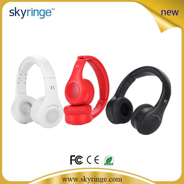 ФОТО New Portable Wirelss Bluetooth Headset With MIC Speaker HIFI Audio Stereo Headset