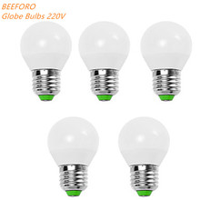 5W E14 / E26/E27 LED Globe Bulbs G45 12 SMD 2835 560 lm Warm White Cool Decorative 220V 5pcs Energy efficient