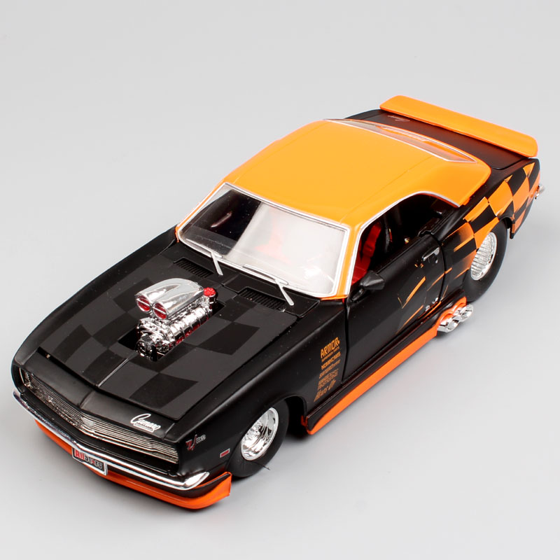 Maisto 1:24 Scale Fast and furious vintage 1968 Chevrolet Camaro Z/28 diecast muscle race refitted vehicle car model toy for boy revell model 1 25 scale 85 7457 69 camaro z 28 rs plastic model kit
