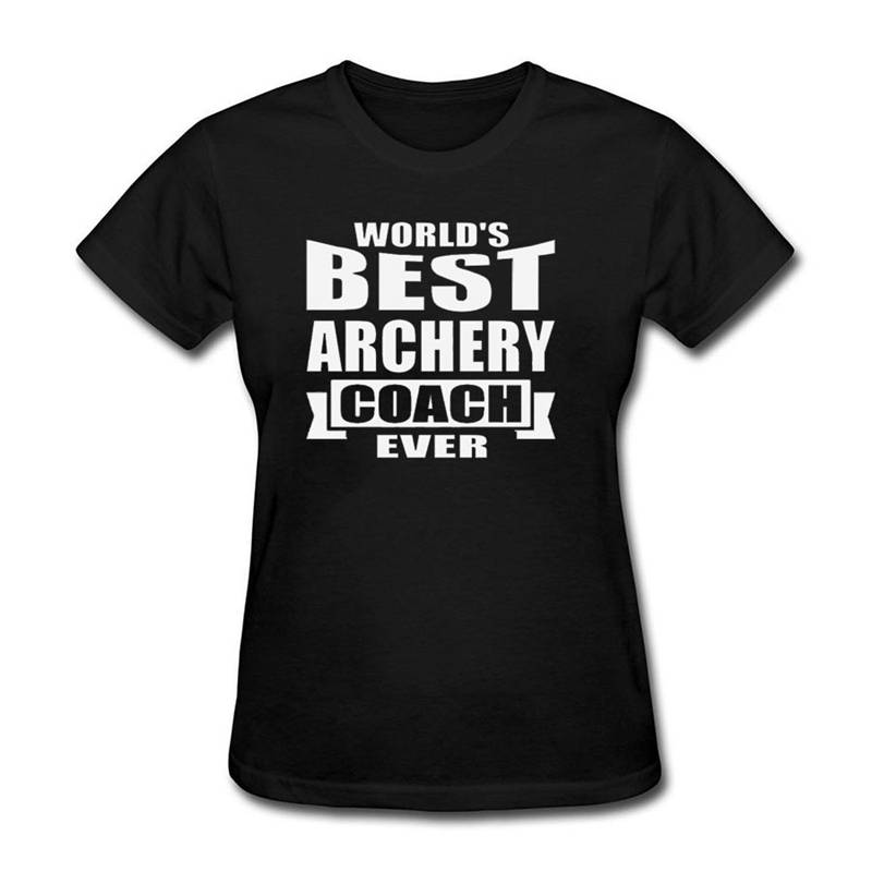 Clothing Tops Hipster Fashion Crew Neck Short  Best Archery Ever Tall Womens T Shirt