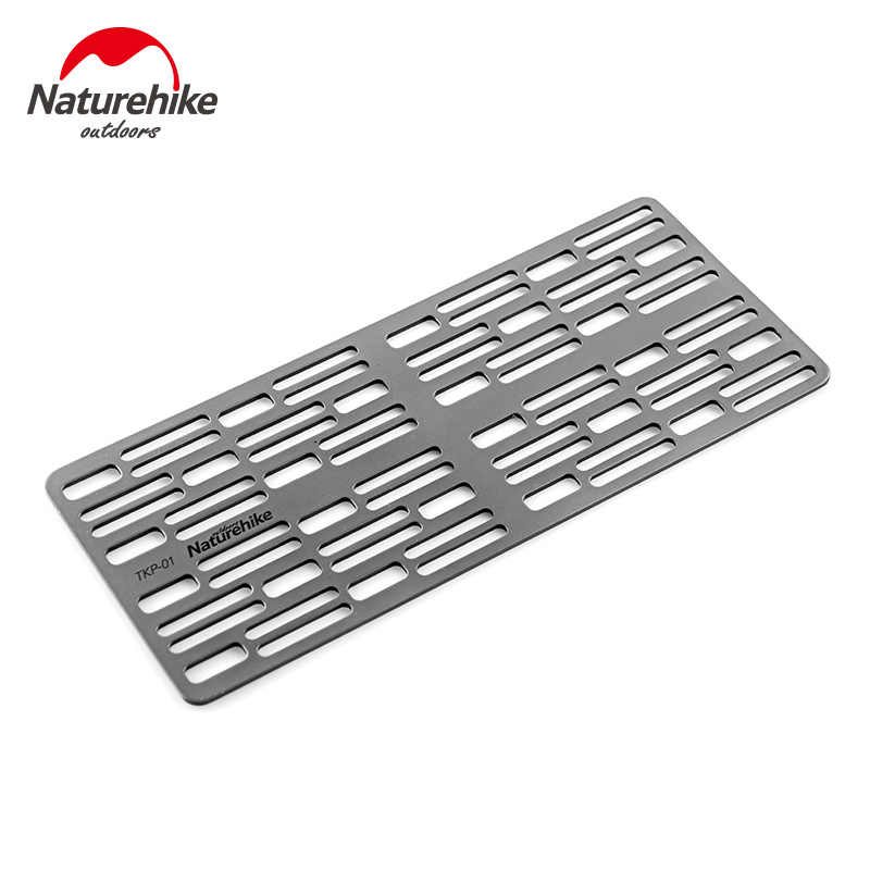 Naturehike Titanium Fire Grill Portable Outdoor Picnic Tool Lightweight BBQ Grill Outdoor Camping Barbecue Plate